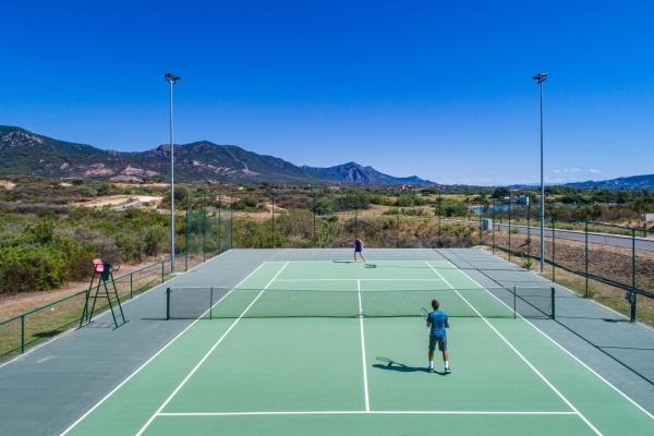 Campo da tennis Is Molas Resort