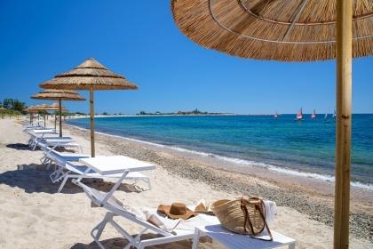 Spiaggia Is Molas Resort - Dettaglio lettini