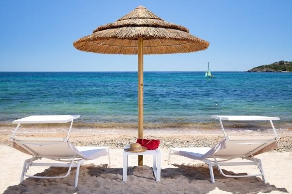 Spiaggia Is Molas Resort - Postazione 1a fila