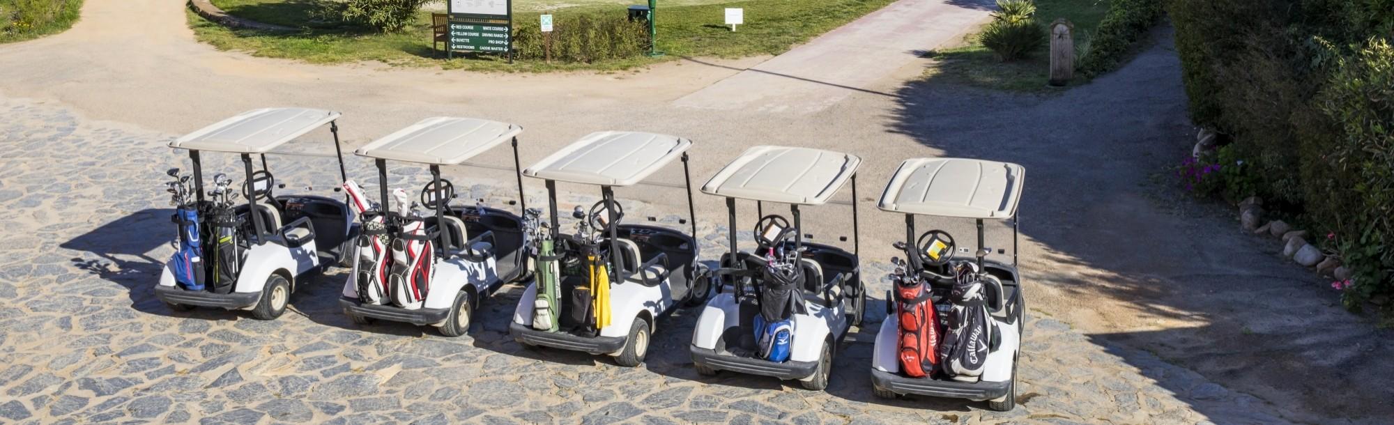Golf cart campo da golf Is Molas