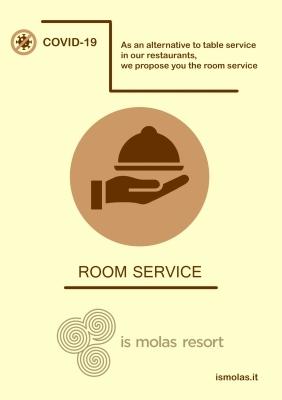 Informativa Covid - Room service
