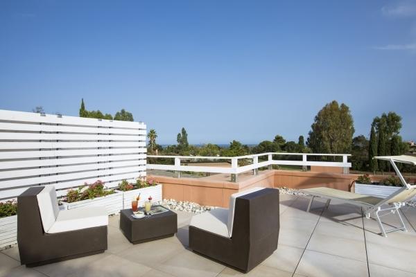 Divani e lettini Terrazza Junior Suite
