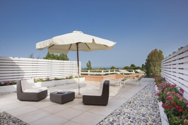 Panoramica terrazza Junior Suite