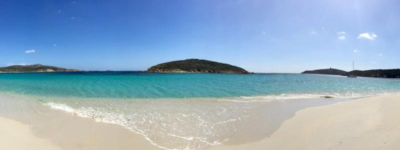 Spiaggia di Tuerredda in Sardegna